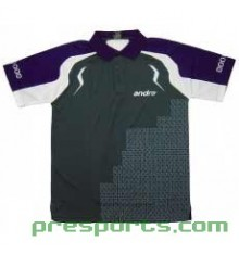 Andro Mingo Polo Shirt (GREY/PURPLE)
