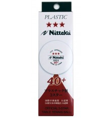 Nittaku 3 Star SHA 40+ Ball (3 PACK BOX)