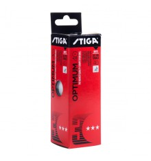 Stiga 3 Star Optimum 40+ Ball (3 PACK BOX)