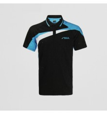 Stiga Black Blue CA85111 Polo Shirt