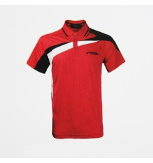 Stiga Red Black CA85151 Polo Shirt