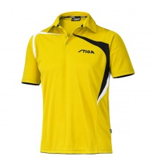 Stiga Intense Yellow Black White Shirt