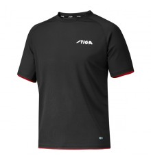 Stiga Xcercise Black Red TShirt
