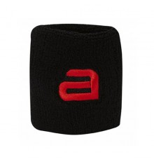 Andro Alpha Black Red Sweatband